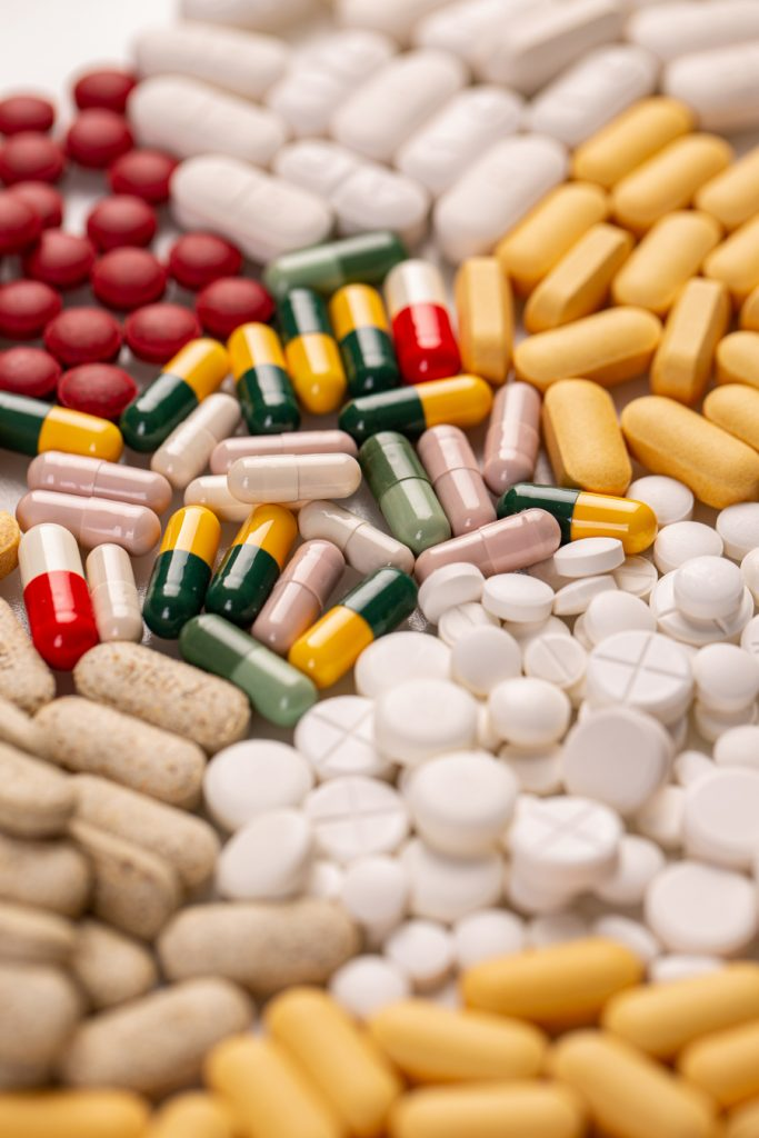 Lots Of Different Medicine Drugs En96s55
